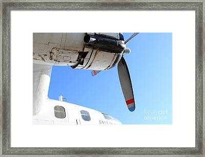 Vintage Boac British Overseas Airways Corporation Speedbird Flying Boat . 7d11270 Framed Print by Wingsdomain Art and Photography