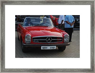 Vintage Car Framed Print by John Peter