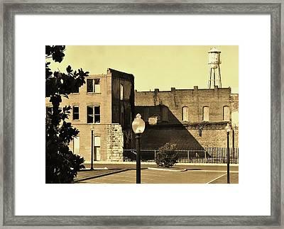 Vintage Days Framed Print by Sharon Farris