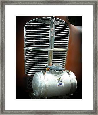 Vintage Gasser Framed Print by Steve McKinzie