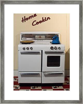 Vintage Kitchen 3 Framed Print by Douglas Barnett