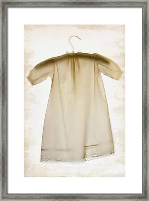 Vintage Little Dress Framed Print by Margie Hurwich