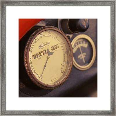 Vintage Speedometer Photograph By Tony Grider