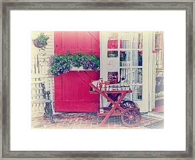 Vintage Store Framed Print by Kim Hojnacki