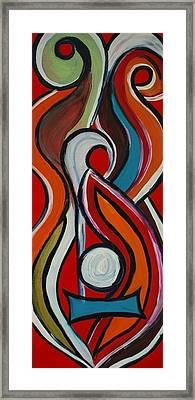 Violina Framed Print by Artista Elisabet