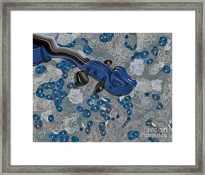 Violinelle - V02-09a Framed Print by Variance Collections