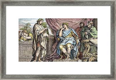 Virgil (70-19 B.c.) Framed Print by Granger