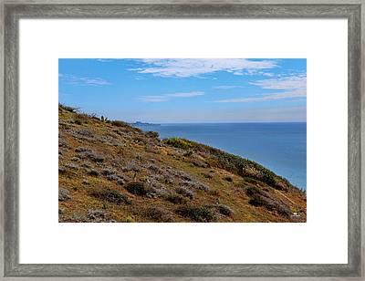 Virgin Coast Framed Print by Russ Harris