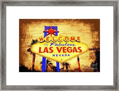 Viva Las Vegas Framed Print by Kevin Moore