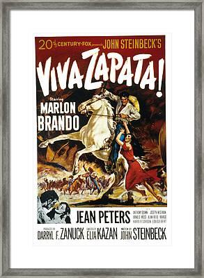 Viva Zapata, Marlon Brando, Jean Framed Print by Everett