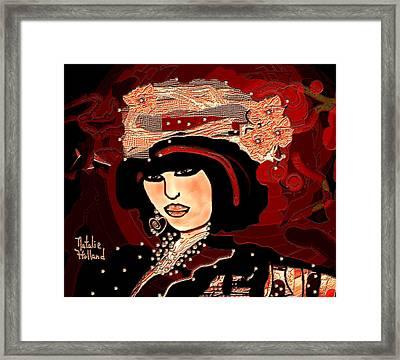 Vivian Framed Print by Natalie Holland