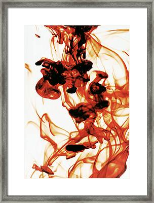 Volcanic Eruption Framed Print by Sumit Mehndiratta