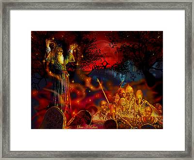 Von The Nacromancer Framed Print by Steve Roberts