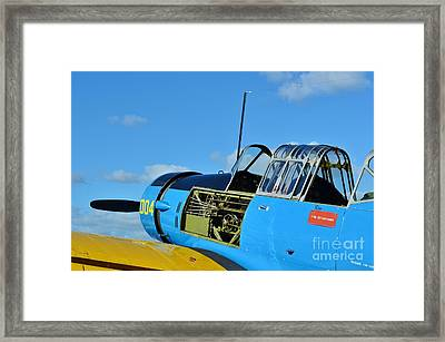 Vultee Bt-13 Valiant  Framed Print by Lynda Dawson-Youngclaus