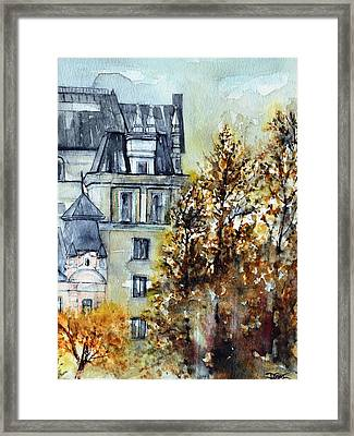 W 35 Moscow Framed Print by Dogan Soysal