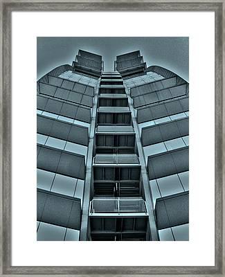 W Barcelona Framed Print by Juergen Weiss