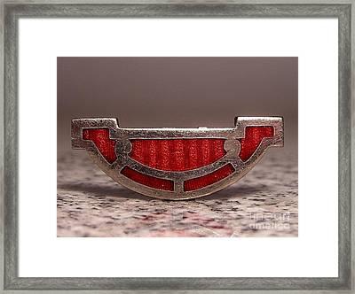 W1 19 Framed Print by Dwight Goss