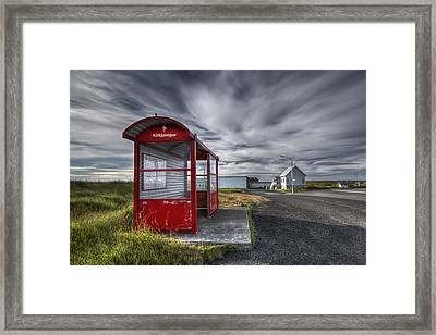 Waiting For The Day Framed Print by Evelina Kremsdorf