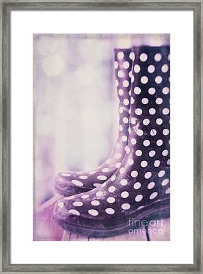Waiting For The Rain Framed Print by Priska Wettstein