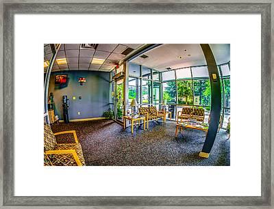 Waiting Room Framed Print by Ken Beatty
