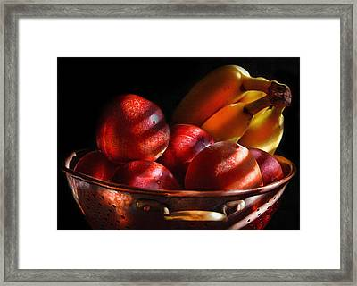 Waiting To Be Tasted Framed Print by Georgiana Romanovna