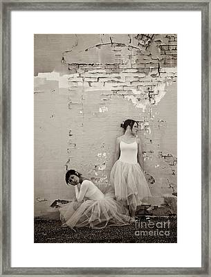 Waiting Together Framed Print by Sherry Davis