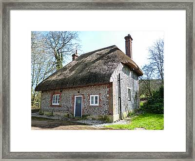 Walderton House Framed Print by Dawn OConnor