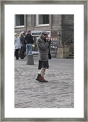 Walkin To My Own Beat Framed Print by Jennifer Sabir
