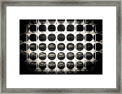 Wall Of Legacy Framed Print by Jason Heckman