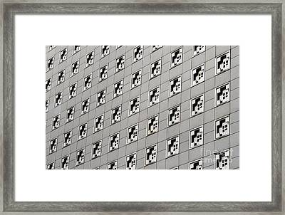Wall Pattern Framed Print by Blink Images