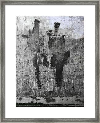 Wall Texture Number 13 Framed Print by Carol Leigh