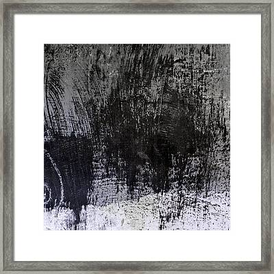 Wall Texture Number 7 Framed Print by Carol Leigh