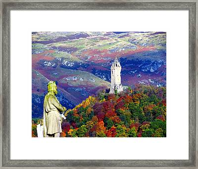 Wallace Autumn Colours Framed Print by Patrick MacRitchie