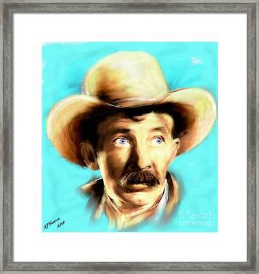 Walter Brennan Framed Print by Arne Hansen