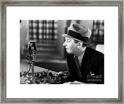 Walter Winchell (1897-1972) Framed Print by Granger