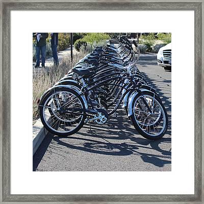 Wanna Ride Framed Print by Raquel Amaral