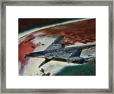 War Bird Framed Print by Douglas Pittman