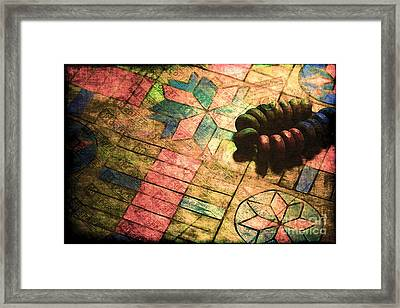 War Games Framed Print by Judi Bagwell