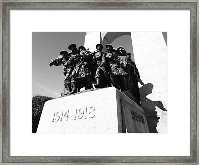 War Memorial Framed Print by Kevin Gilchrist