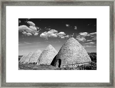 Ward Charcoal Ovens Framed Print by Scott McGuire