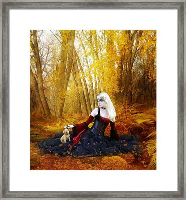 Warm Friends Framed Print by Mary Hood