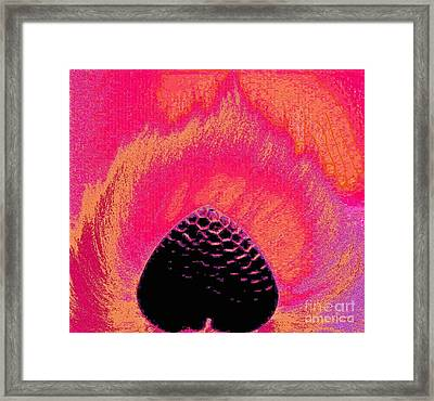 Warming By Your Fire. Framed Print by Jozy Me