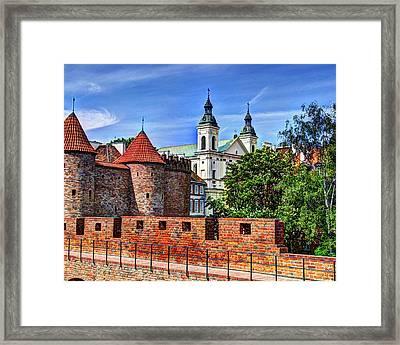 Warsaw Church Framed Print by Jon Berghoff
