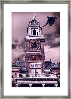 Warwick City Hall Framed Print by Lourry Legarde