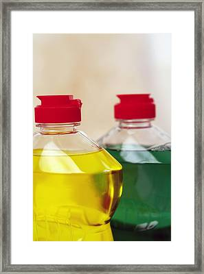 Washing Up Liquid Framed Print by Ian Boddy