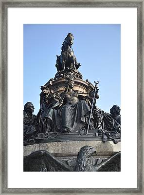Washington Monument Philadelphia - Front View Framed Print by Bill Cannon