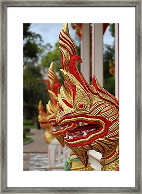 Wat Chalong 3 Framed Print by Metro DC Photography
