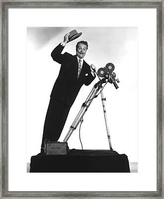 Watch The Birdie, Red Skelton, 1950 Framed Print by Everett
