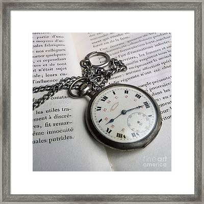 Watche Framed Print by Bernard Jaubert