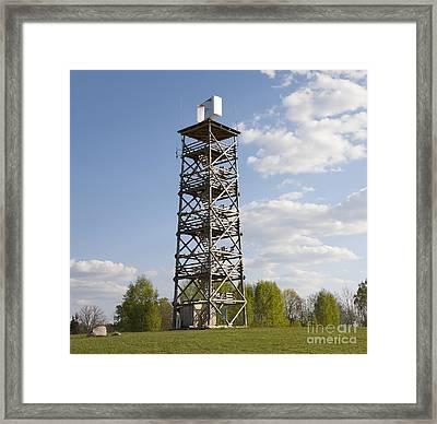 Watchtower In Rõuge, Estonia Framed Print by Jaak Nilson
